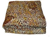 Двуспальное одеяло из овечьей шерсти Лери Макс леопардовый окрас