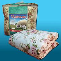 """Одеяло из овечьей шерсти Евро размер """"Лери Макс"""" разные окрасы"""