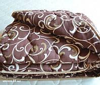 Одеяло двуспальное из овечьей шерсти - Лери Макс Gold вензеля