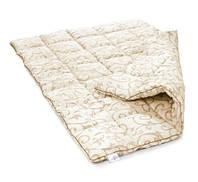 """Одеяло двуспальное из овечьей шерсти """"Лери Макс"""" Gold - вензель штрих"""