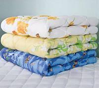 Теплое полуторное одеяло Лери Макс наполнитель двойной силикон