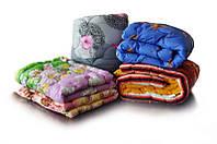 Полуторное одеяло Лери Макс наполнитель двойной силикон - разные цвета