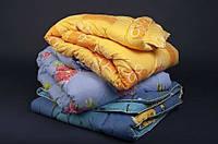 """Теплое полуторное одеяло """"Лери Макс"""" наполнитель двойной силикон"""
