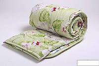 Двуспальное одеяло Лери Макс наполнитель двойной силикон - цветы