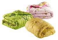 """Двуспальное одеяло """"Лери Макс"""" наполнитель двойной силикон разные расцветки"""