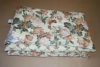 Двуспальное одеяло Лери Макс наполнитель двойной силикон мелкие цветочки
