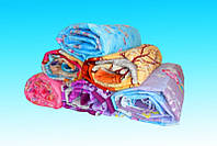 Двуспальное одеяло Лери Макс наполнитель двойной силикон - разные окрасы