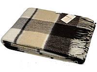 Плед шерстяной полуторного размера VLADI - 20% овечья шерсть