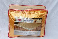 Покрывало с подушками на кровать ТЕП двуспальный размер - золотистое