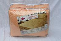 Покрывало с подушками на кровать ТЕП двуспальный размер золотистый цвет