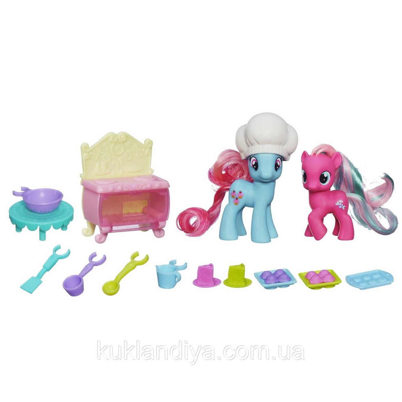 Набір My Little Pony Місіс Кап Кейк і маленька поні