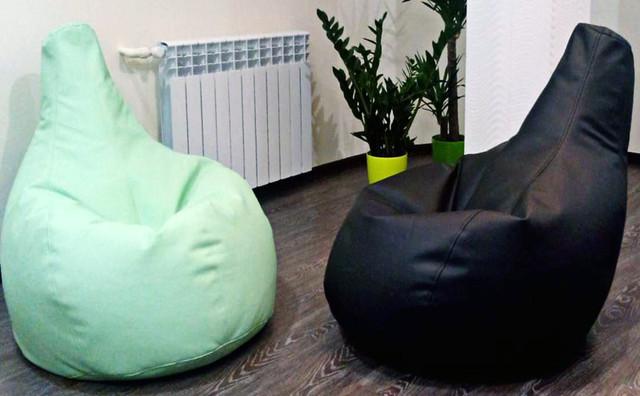 Бескаркасное кресло груша феррари купить недорого Киев