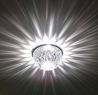 Светильник точечный  Feron JD187 прозрачный хром