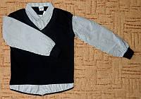 Рубашка с жилетом (обманка)