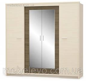 Шкаф Кантри 4Д 2138х2218х628мм Дуб молочный   Мебель-Сервис