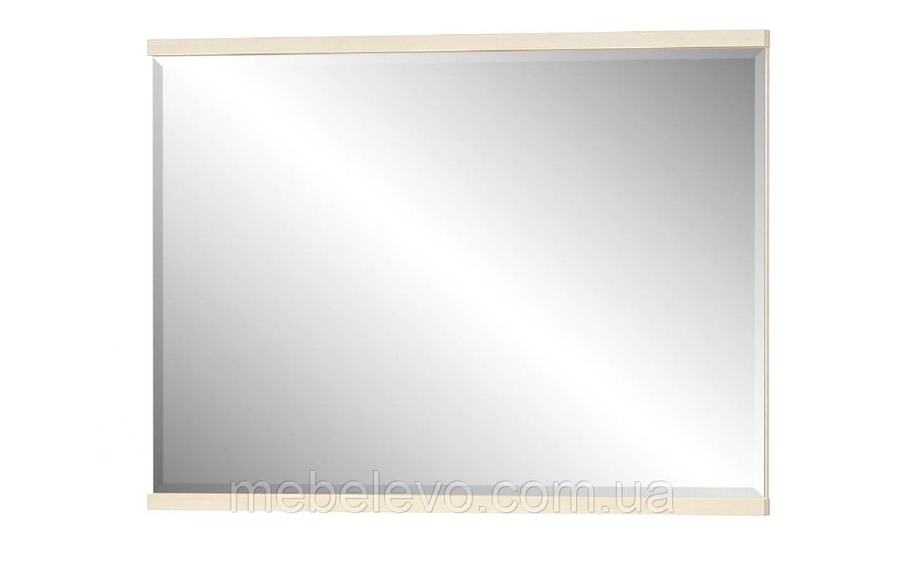 Зеркало Кантри  820х1106х40мм Дуб молочный   Мебель-Сервис