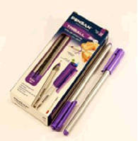 Ручка трехгранная TRIBALL фиолетовая 12шт/уп Pensan