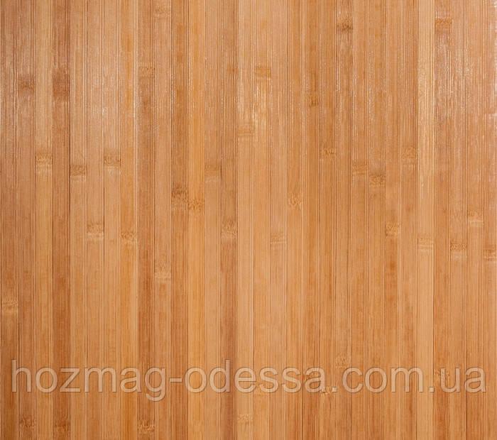 Бамбуковые обои темные пропиленные, ширина 90 см