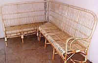 Угловой плетеный диван 5 местный, фото 1