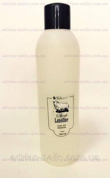Soak Off Remover Silcare - ремувер с ланолином, 1000мл
