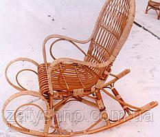 Кавова зручна гойдалка плетена