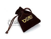 Подарочный мешочек коричневый упаковка