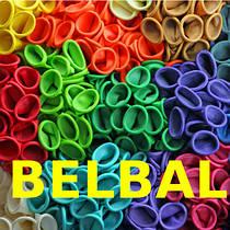 """12""""(30см) латексные воздушные шары Belbal (Бельгия)"""