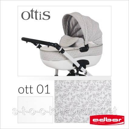Детская коляска Adbor OTTIS 2 в1. Цвет Ott 001.