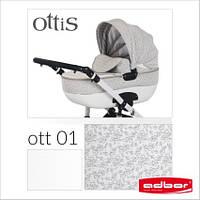Детская коляска Adbor OTTIS 2 в1. Цвет Ott 001.  , фото 1