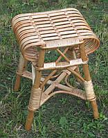 Табурет плетений з лози