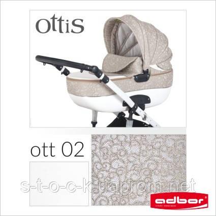 Детская коляска Adbor OTTIS 3в1. Цвет Ott 002.