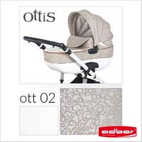 Детская коляска Adbor OTTIS 3в1. Цвет Ott 002.  , фото 1