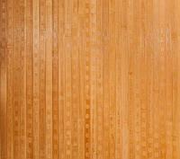 Бамбуковые обои темные, квадратная звезда, ширина 90 см