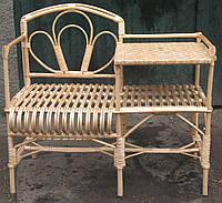Кресло-стол из лозы