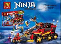 Конструктор Ninja 79143 Мобильная база, фото 1