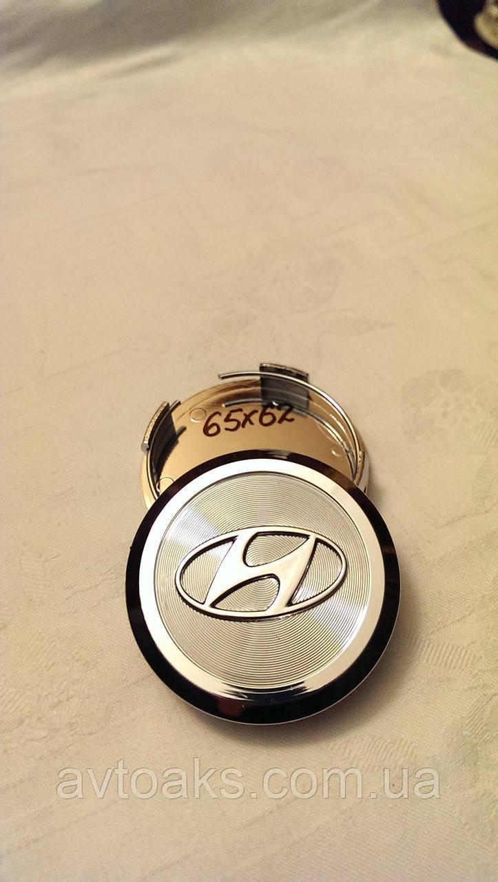 Колпачок Hyundai 65х62мм.