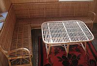 Мебель угловая плетеная
