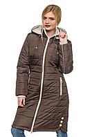 Длинная зимняя куртка от производителя г.Харьков, 44-56 размера
