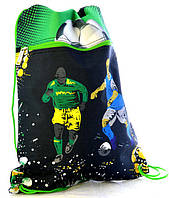 """Мешок для обуви со змейкой JO-15231 """"Футбол"""", фото 1"""