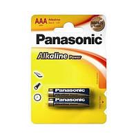 Батарейка Panasonic ALKALINE POWER AAA BLI 2 (LR03REB/2BP)