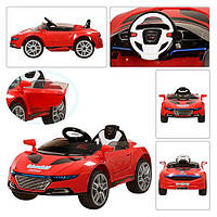 Электромобиль Машина AUDI красная M 2448EBR-3 Bambi