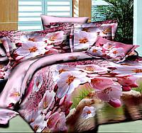 Постельное белье комплект 1,5 Цветущая яблоня
