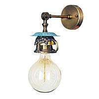 Настенно-потолочный светильник купол Loft Steampunk [ on Wall Ceiling COFFEE ]