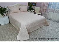 Покрывало 265X265 Arya Cario кремовый/розовый