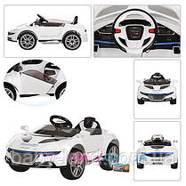 Электромобиль детский Audi аккумуляторный M 2448 EBR-1,EVA колеса,амортизаторы