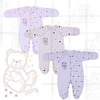 Комбинезон для новорожденного Фламинго