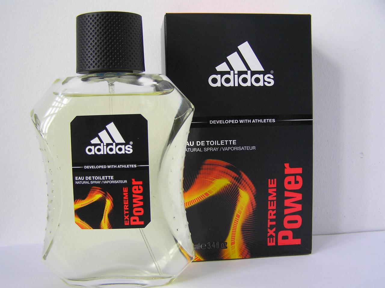 Туалетная вода мужская Adidas Extreme Power (Адидас Экстрим Павер) 100 мл. (Новый дизайн)