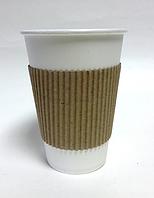 Термочехлы для бумажных стаканов 270мл, 340мл