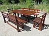 Садовая мебель (лавки, стулья, стол), Набор мебели, Дачная мебель, Садовые комплекты, Мебель для дачи.