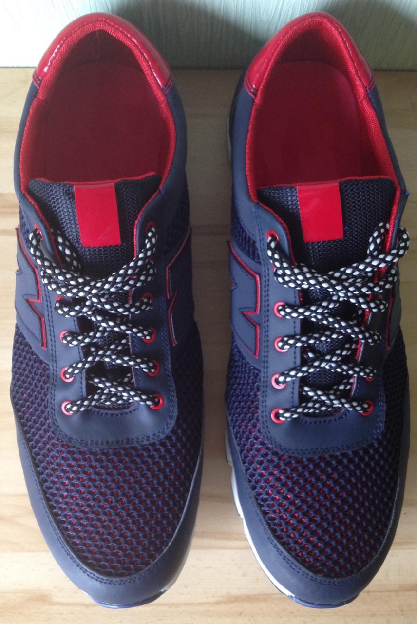 8d98b84c New Balance синие мужские кроссовки в стиле NB сетка весна лето осень обувь  большого размера, цена 950 грн., купить в Харькове — Prom.ua (ID#324668294)